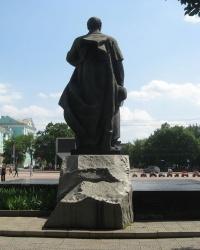 Памятник Тарасу Шевченко в Луганске