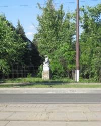 Памятник шахтерам-гидромониторщикам в Луганске