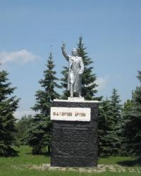 Памятник Артему (Сергееву Ф.А.) в Артемовске