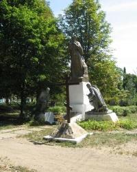 Братская могила освободителей Донецка в Ларино