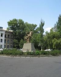 Памятник Богдану Хмельницкому в Украинске