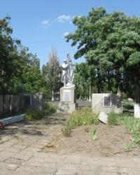 Мемориал в селе Раздольное