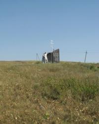 Памятник погибшим землякам в селе Васильевка