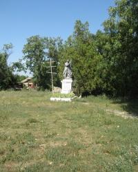 Братская могила в селе Васильевка