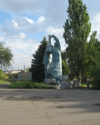 Памятник гвардейцам пятилетки в Константиновке