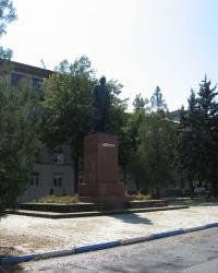 Памятник Ленину на центральной площади Дружковки