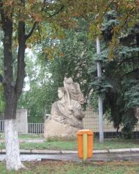 Памятник казаку Дружко в Дружковке