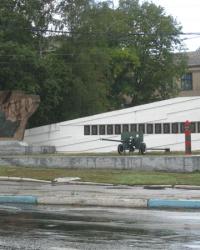 Памятник рабочим дружковского машзавода, погибшим в Гражданскую и Отечественную войну