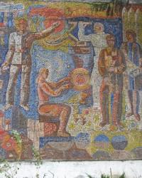 Мозаика в Славянске