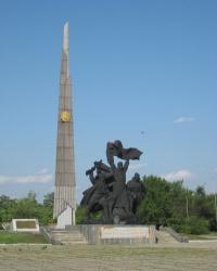 Памятник воинам-освободителям в Луганске