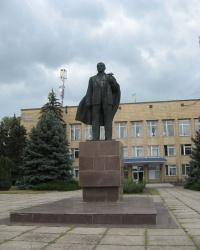 Памятник В.И.Ленину в Новоазовске