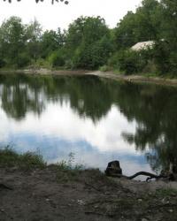 Озеро Бездонное в Святогорске