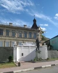 Памятник А.С.Пушкину в Бахчисарае