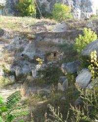 Руины армянского монастыря Григория Просветителя в Бахчисарае