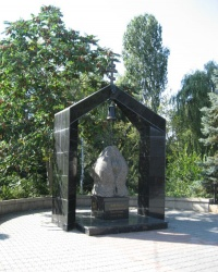 Мемориал жертвам трагедии на Чернобыльской АЭС в Симферополе