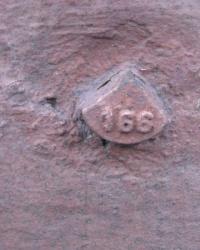 Репер 166 по проспекту Нахимова,72