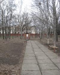 Памятник на могиле И.М.Емельянова в Константиновке