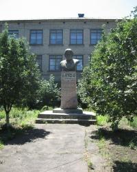 Памятник Н.К.Крупской в г.Харцызск