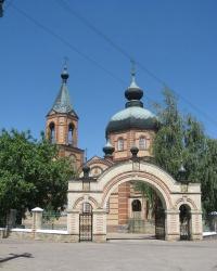 Петро-Павловский храм в Харцызске