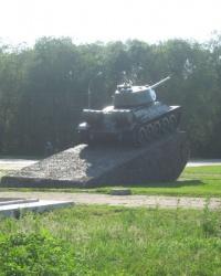 Памятник воинам-танкистам в Луганске