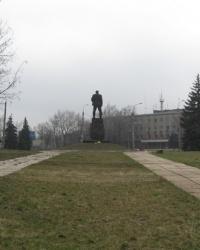 Памятник Никите Изотову в Горловке