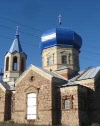 Свято - Вознесенский храм в селе Каменка