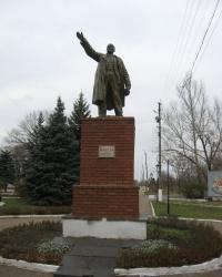 Памятник В.И.Ленину в Пантелеймоновке