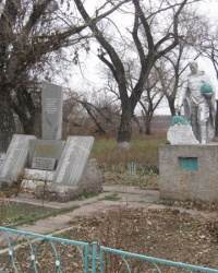 Воинский мемориал в селе Новоселовка