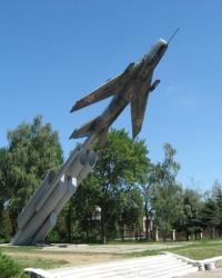 Памятник летчикам-героям в Харцызске