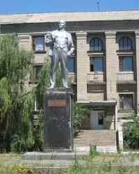 Памятник Ленину по ул.Адамца в Харцызске