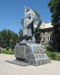 Памятник воинам-освободителям в Харцызске