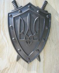 Памятный знак у прокуратуры Луганска