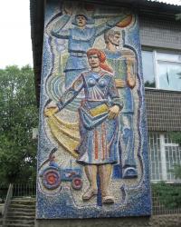 Мозаика в Старобешево