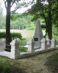 Братская могила советских воинов по ул.Баклевского в Донецке