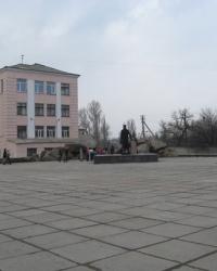 Памятник П.Н.Горлову в Горловке