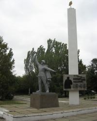 Памятник рабочим металлургического завода Макеевки, погибшим в годы ВОВ