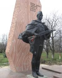 Памятник воинам-освободителям в Очеретино