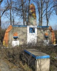 Памятник воинам-землякам в Очеретино