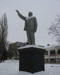 Памятник В.И.Ленину в Торезе