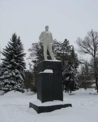 Памятник В.В.Маяковскому в Торезе