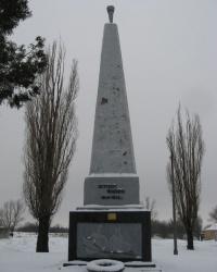 """Памятник """"Жертвам фашизма"""" в Торезе"""