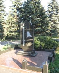 Памятник ликвидаторам последствий аварии на ЧАЭС в Марьинке