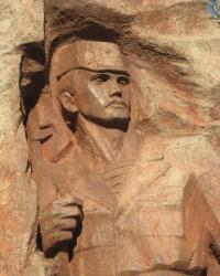 Памятник воинам-интернационалистам в Марьинке