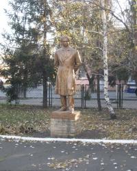 Памятник А.С.Пушкину в Марьинке