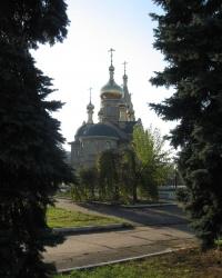 Свято-Казанский храм в Марьинке