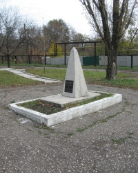 Памятник погибшим шахтерам и горноспасателям Рутченковки