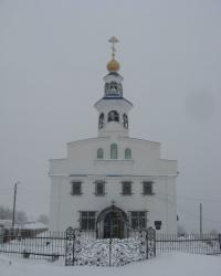 Свято-Николаевский храм в городе Снежное