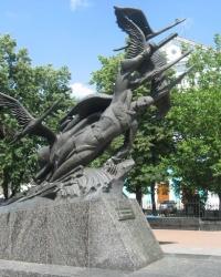 """Памятник Неизвестному солдату """"Журавли"""" в Луганске"""
