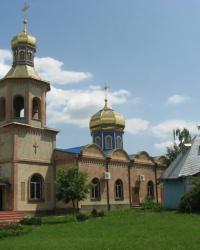 Храм Всех Святых в Луганске