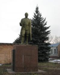 Памятник С.М.Кирову в Донецке